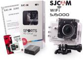 SJCAM™ SJ5000 WiFi in Silver met extra accu en Kingston 32Gb Class 10 Micro-SD