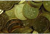 Piratenmunten goudkleurig aluminium - 500 stuks