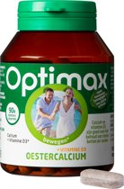Optimax Oestercalcium 1200 mg + vitamine D3 90 tabletten