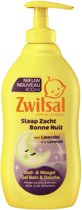 Zwitsal Slaap Zacht Lavendel Bad- & Wasgel - 400 ml - Bad- & Wasgel