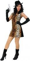 Sexy tijgerprint jurkje voor dames 38 (m)
