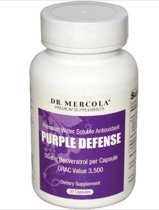 Dr. Mercola Voedingssupplementen Purple Defense, Premium Water Oplosbare Antioxidant (30 Capsules) - Dr Mercola