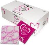 MoreAmore Tasty Skin Bubblegum - 100 stuks - Condooms