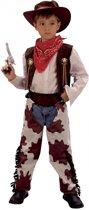 Cowboy koeienprint kostuum voor kinderen 110-122 (5-7 jaar)