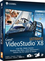 Corel, Video Studio X8 Ultimate (Dutch / French)