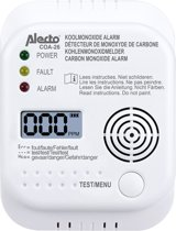 Alecto COA-26 Koolmonoxide melder | 7 jaar sensor