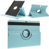 Samsung Galaxy Tab S 10.5 Draaibaar Stand Case Hoesje Lichtblauw