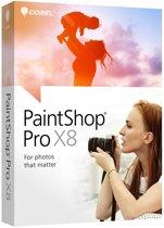 Corel PaintShop Pro X8 - Nederlands / Engels / Frans - PC