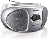 Philips AZ105 - Radio/Cd-speler - Zilver