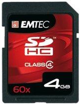 Emtec SDHC 4GB 60X