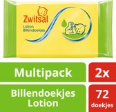 Zwitsal Lotion Wipes 2x72st
