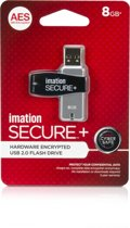Flash drive USB 2.0 8GB Secure Hardware Encryption 1-pack