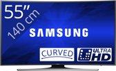 Samsung UE55JU6500 - Led-tv - 55 inch - Ultra HD - Smart-tv- Zwart
