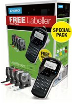 Dymo Labelmanager 280 Bundelpack - Labelprinter + 4 Labelrollen / Qwerty