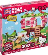 Mega Bloks Hello Kitty Boomhuis - Bouwstenen