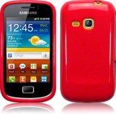 Rood gel hoesje Galaxy mini 2