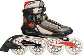 Nijdam Pro-line Inlineskates Pro Line - Speed Fitness - Zwart/Zilver/Rood - 38
