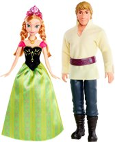 Disney Frozen Prinses Anna & Kristoff - Barbie pop - Cadeauset