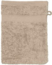 WALRA badgoed Walra set van 6 Washandjes 16x21 Sand