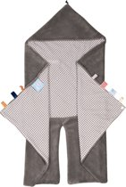 Snoozebaby - Trendy Wrapping Wikkeldeken - Hippo Grey