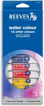 Reeves aquarelverf set 12 tubes