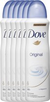 Dove original Women  - 150 ml - deodorant spray - 6 st - Voordeelverpakking