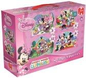Jumbo Minnie 4-in-1 - Puzzel - 12 stukjes