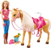Barbie en Paard Tawny - Mode Pop
