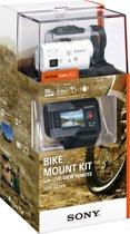 Sony HDR-AZ1VB met Wi-Fi - Action Camera - Bike Kit