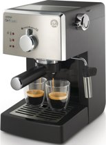 Saeco Poemia HD8425/11 - Handmatige espressomachine - Zwart/Zilver