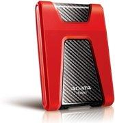 Adata DashDrive Durable HD650 1TB - Externe harde schijf / Rood