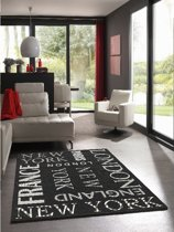 (In/Outdoor) Vloerkleed 20675-90 Black 160x220 cm