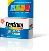 Centrum Select 50+ - 30 Tabletten - Multivitamine