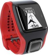 TomTom Runner Cardio - GPS Sporthorloge - zwart/rood