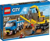 LEGO City Graafmachine en Truck - 60075