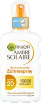 Garnier Ambre Solaire Ultrahydraterende spray SPF 20 - 200 ml - Zonnebrand spray