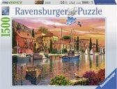 Ravensburger Mediterrane haven - Puzzel