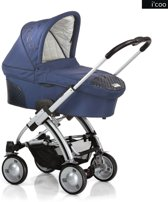 I'coo - Pii Kinderwagen Twilight/Navy