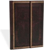 Paperblanks Black Moroccan Midi Lined Journal