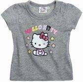 Hello Kitty T-Shirt - Grijs - Maat 80; 12 maanden