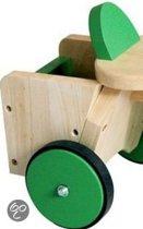 Scratch Aanhangbakje groen