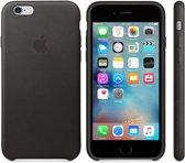 Apple iPhone 6/6S lederen hoesje- zwart
