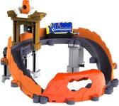 Chuggington Stack Track - Motorized Brewster maakt Schoon Spoor speelset