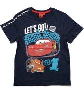 Disney Cars Jongens T-shirt - blauw - Maat 116