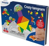 Miniland Taal: On The Go Magnetisch Spel Crazy Tangram