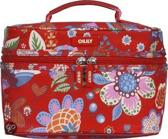 Oilily Winter Blossom Square Beauty Case Scarlet