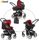 Hauck - Apollo All in One - Zwart/Rood