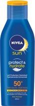 NIVEA Verzorgende - SPF 50+ - 200 ml - Zonnemelk