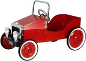 Metalen Trapauto Classic Car - Rood