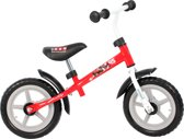 Disney Cars Metalen Loopfiets - Rood - 12 inch